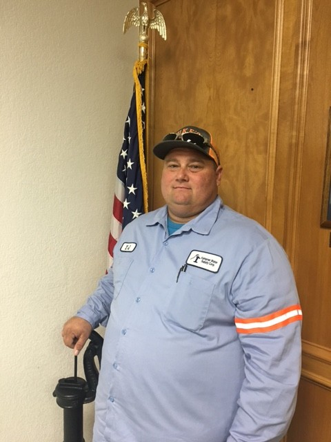 TJ Amstead, Water Quality Supervisor